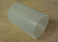 Satin Extruded Acrylic Tube